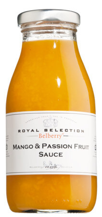 Mango & Passion Fruit Sauce Belberry