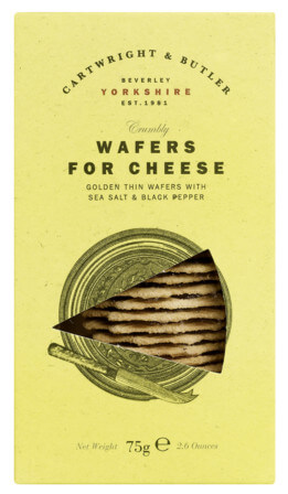 °Cheese Wafers with Sea Salt and Black Pepper