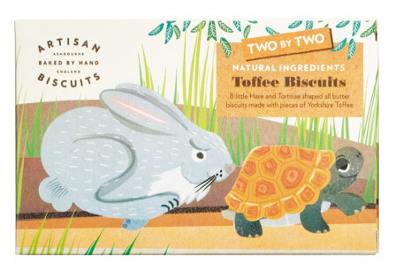 Two by Two, natural toffee biscuits