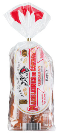 Madeleines pur beurre Royale Grojean, sachet