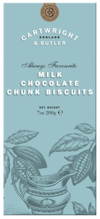 Milk Chocolate Chunk Biscuits