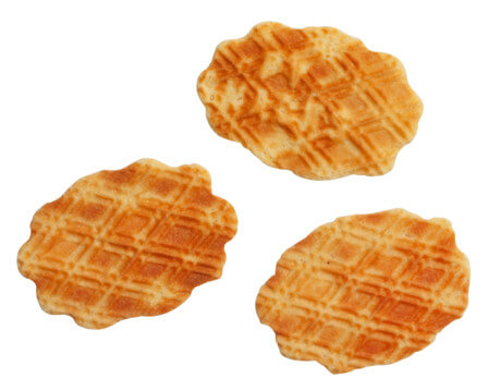 Cheese Wafers with Honey and Mustard