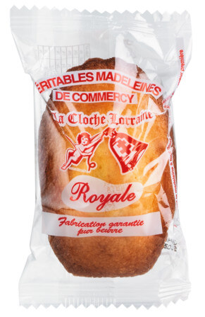 °Madeleines pur beurre Royale Grojean, boîte bois